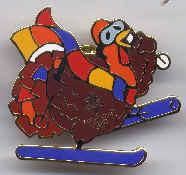 Turkey Ski Pin