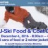 Cataloochee – Can U Ski – Food and Coat Drive – Dec 4 2016
