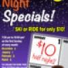 App Ski Mtn – $10 Sunday half night Special – March 5
