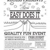 Beech Mtn – Recess Easy Does It – Saturday March 4