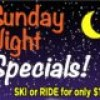 App Ski Mtn – $10 Sunday half night Special
