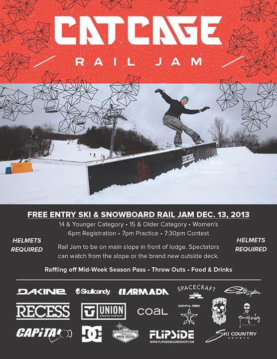 Cataloochee - Cat Cage Rail Jam